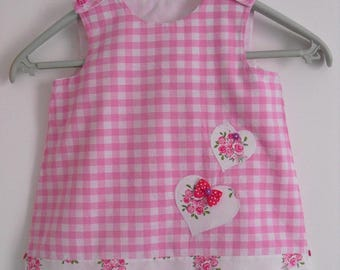 Pinafore dress, size 24 months!