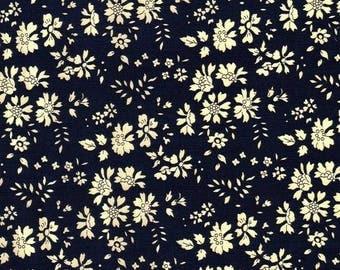 coupon Navy LIBERTY capel design fabric