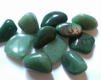 approximately 2 cm 1 wrapped Aventurine stone