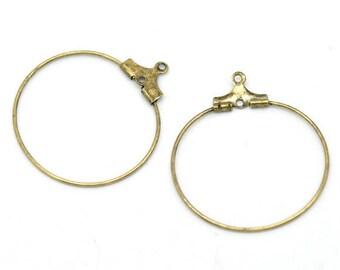 10 rings to drink wine & 29x26mm earring