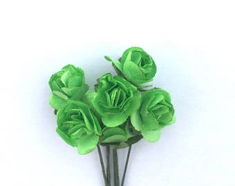 "Flower with stem ""green"" adjustable"