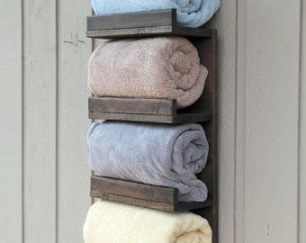 bathroom towel rack 4 tier bath storage everyday towel rack floating shelf