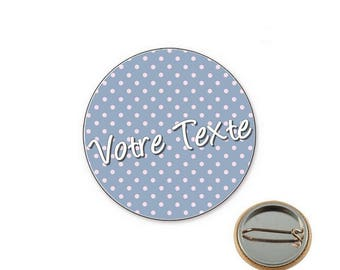 Customizable dot - 25mm button badge