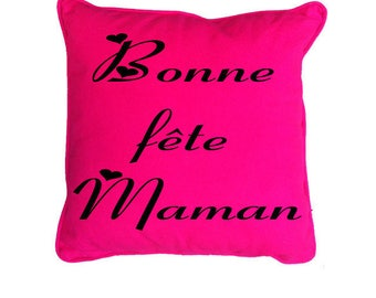 Pillows with custom text