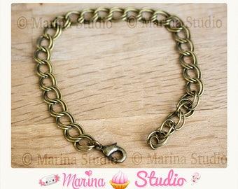 12 bronze charms bracelets