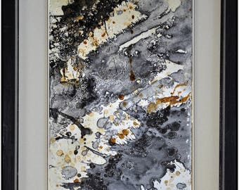 lacquered painting, pasted on board TB110