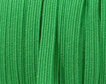 Green 6 mm elastic Ribbon