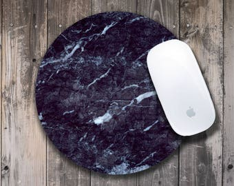 Marble Mouse Mat Round Mousepad Marble Mousepad Customized Mouse Mat Marble Mouse Pad Gift Mouse Mat Personalized Mouse Mat Rectangular Cute