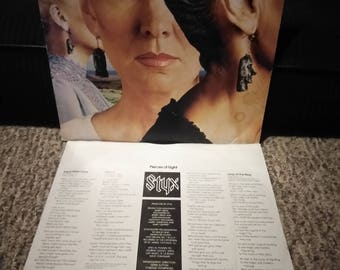 Styx pieces of eight (vinyl) great dam copy  buy today ship today