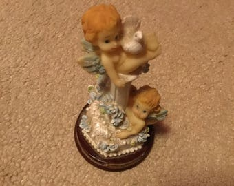 Small Cherub Figurine