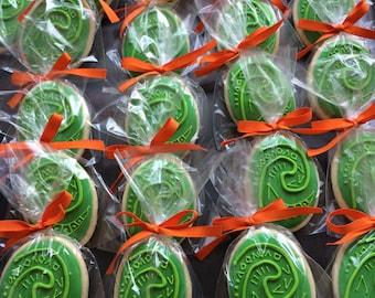 Moana Heart of De Fiti sugar cookies party favors