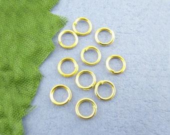 500 gold 4 mm open jump set M01721 0.7 mm