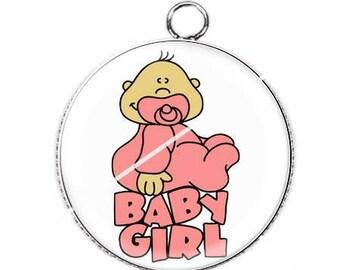 Cabochon pendant course edge 12 baby baby