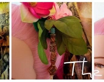The Julia - Tiki Hair Clip