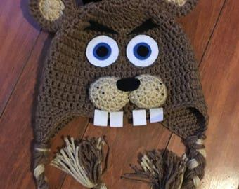 five nights at freddys, FNAF hat, freddy hat, Five night at freddys hat, FNAF costume hat,