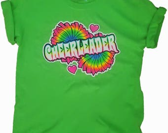 Neon Cheerleader T-shirt or Tank
