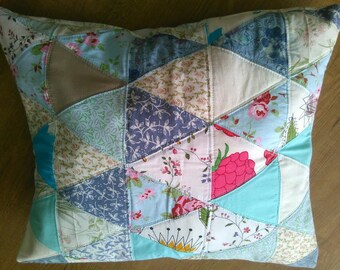 Upcycled Pillow Cover