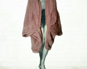 Jacket cocooning trend pink satin mesh XL and plaid