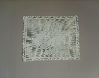 Doily crochet Angel 32cm x 25cm