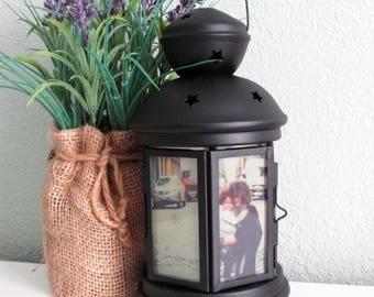 Photo Gift, Customized Photo Lantern, Unique Photo Gift, Custom Photo Gift, Photo Collage Gift, Photo Gift for Couples, Family Photo Gift