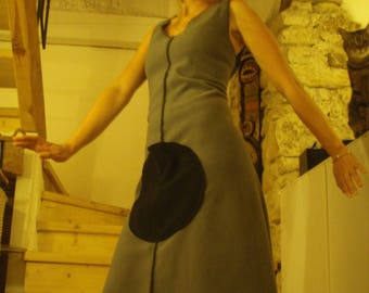 Dress gray fleece