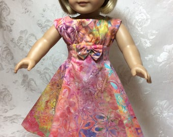 Batik Outfit fits American Girl Doll