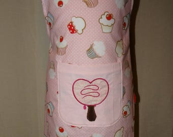 Creating handmade kids apron
