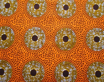 Wax fabric African loincloth coupon 45 cm x 116 cm