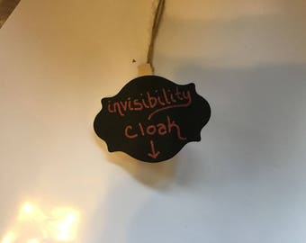 Invisibility Cloak Ornament inspired by Harry Potter