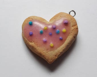Charm Heart Shaped biscuit