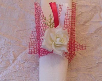 baptism or wedding napkin ring