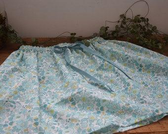 Skirt liberty betsy Mint and Lemon