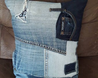 recycled denim, no. 3 with inside cushion