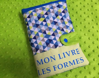 Cloth baby book