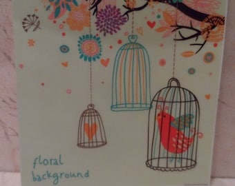 """Sticker wall switch """"birdcage"""" collection"""