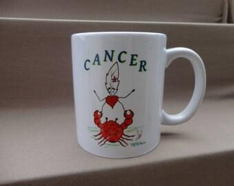 Mug Zodiaque Cancer Lily la Plume