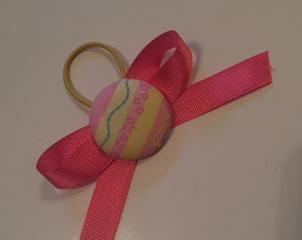 "1.5"" Buttons with Bows or Ribbons"