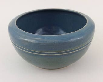 Royal Doulton Blue Stoneware Bowl