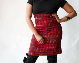 """Vintage """"Got to be clueless"""" Tweed dress"""
