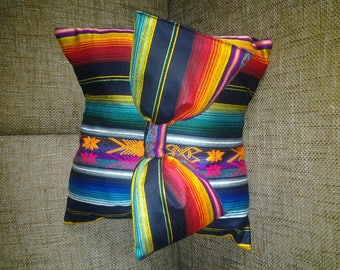COLLECTION RAINBOW WITH KNOT COVERS, PILLOWS AND SOFA ABLE COTTON