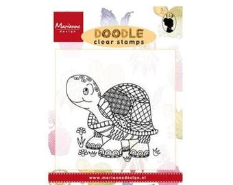 Marianne Design Turtle animals new Doodle clear stamp