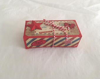 Small box chcolats scrapbooking