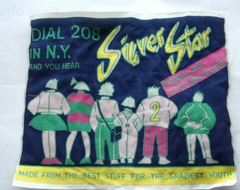 PATCH APPLIQUE for sew - SILVER STAR PEOPLE ALL OVER THE WORLD