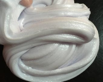 Pearly Violet Swirl Slime