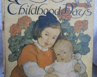 1910 Baby Book Antique Baby Book
