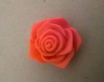 pink orange silicone rubber