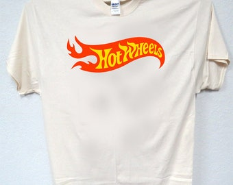 HOT WHEELS, 60's Logo, Classic, RETRO,T-Shirt, All Sizes, All Sizes, 880