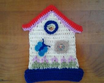 crochet little house