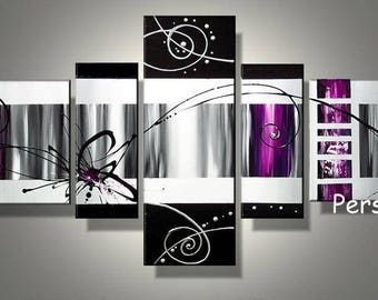 Tables design Black Silver purple Violet always 150 cm