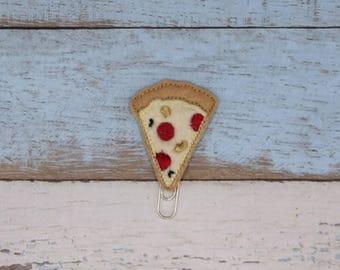 Kawaii Deluxe Pizza Slice  Feltie Design (Digital Embroidery Design)
